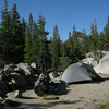 Our camp - with my Tarptent Double Rainbow
