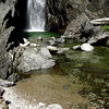 A perfect swimming hole for a hot day