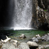 Swimming hole<br /> <br /> I jumped in, hiking clothes and all, and fully submerged myself - it was heavenly