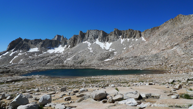 Highest Lake in Granite Park. Really windy - it had white caps. But it is so pretty up here, I'd love to come back and explore some more.