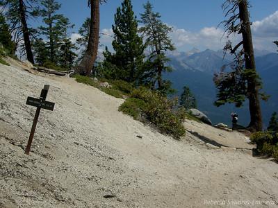 High Sierra Trail is thataway ->