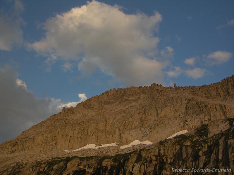 Ridge of Eagle Scout Peak at Sunset