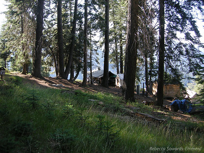 Bearpaw High Sierra Camp. If I were to be all lazy and let someone else do the work for me in the backcountry, this is the High Sierra Camp I'd choose. The views are amazing and the atmosphere is warm and friendly.