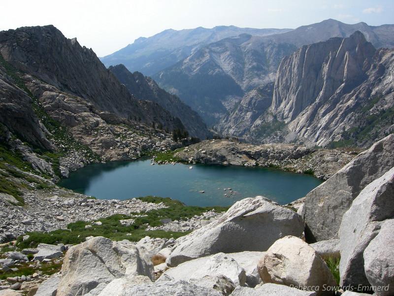Lower Precipice and Valhalla.