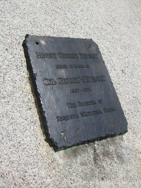A nice plaque about Mt Stewart