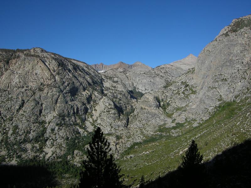 Kaweah Ridge and Triple Divide Peak