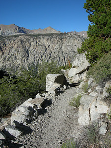 Today is a day of climbing again as we finish working our way out of the Kern Canyon and up to Guitar Lake (~11500 ft)