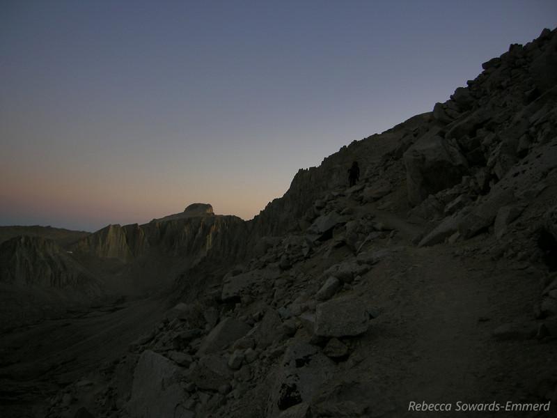 Sunrise on Mt Hale (?)