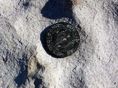 The third summit benchmark. Word is that they are measuring the elevation to be above 14,500 now.