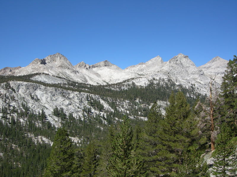 Lippincott and other divide peaks.