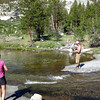 A nice pool along Big Arroyo for foot soaking and fishing!