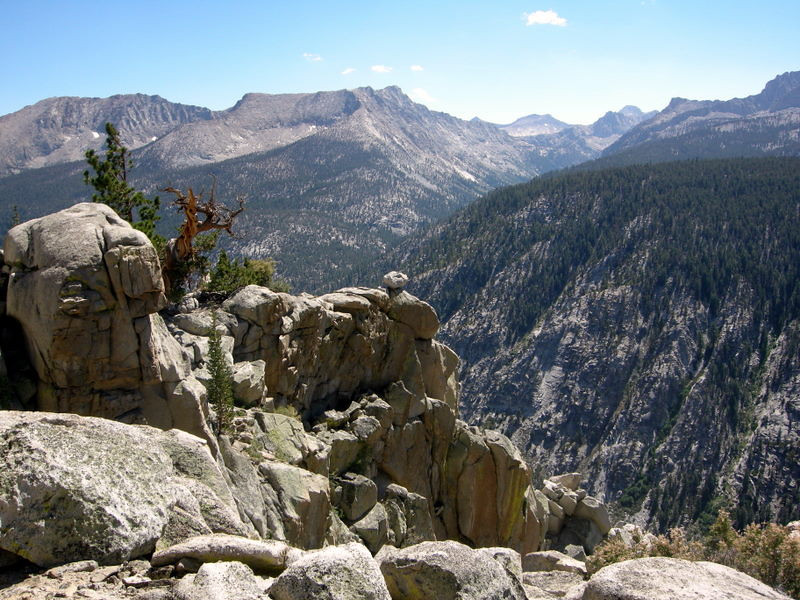 View towards Lost Canyon
