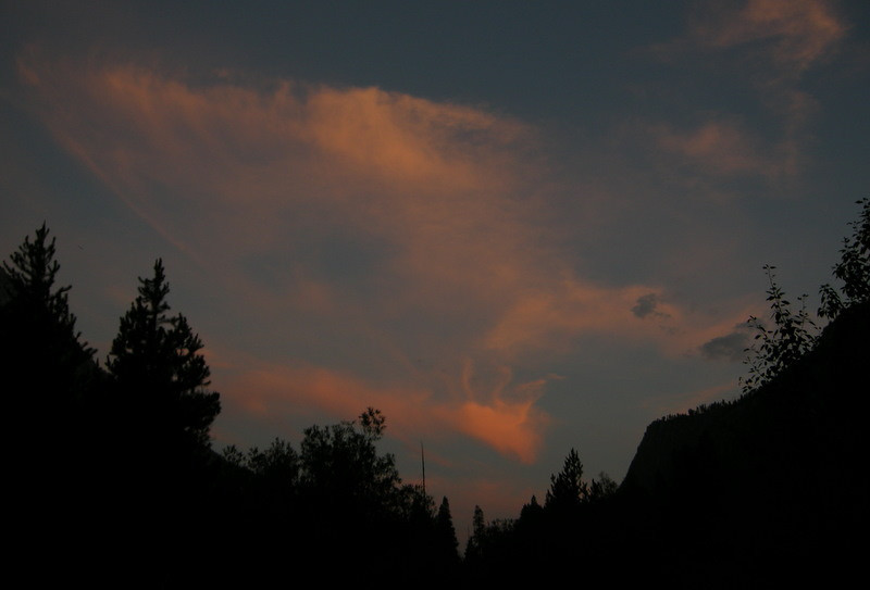 Sunset pinks