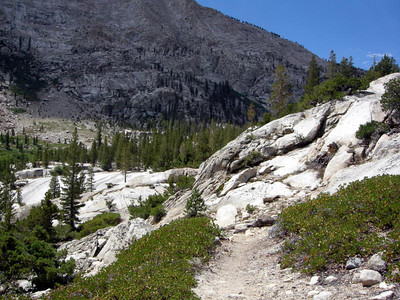 Some of this stretch reminded me of the climb to Muir Pass from the northbound JMT.