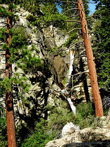 Falls along Rattlesnake Creek  This was a long climb of almost 4000 ft but really beautiful.