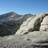 Climbing towards Franklin Pass