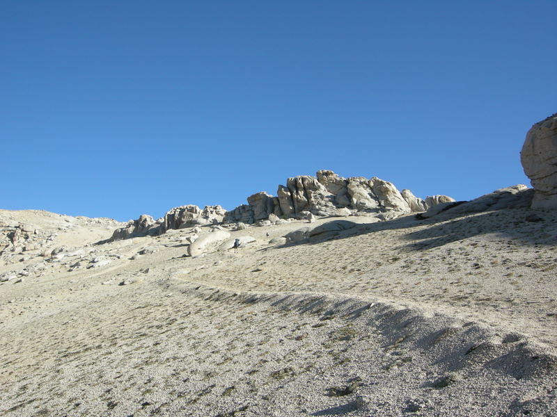 A High sierra moonscape