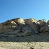 Rocks near the pass