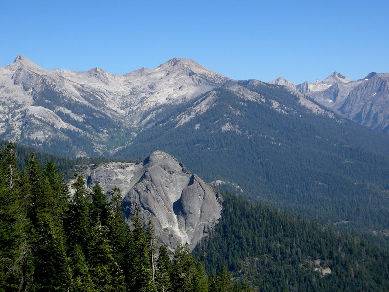 Great Western Divide and Sugarbowl Dome