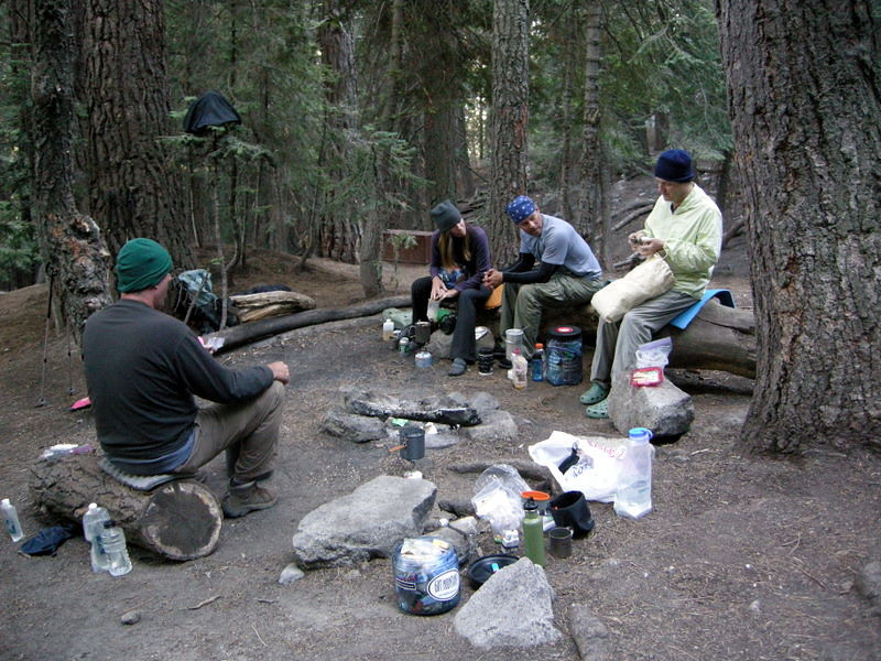 Camp at 9-Mile creek