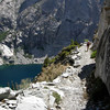 Pavla motors up the High Sierra Trail
