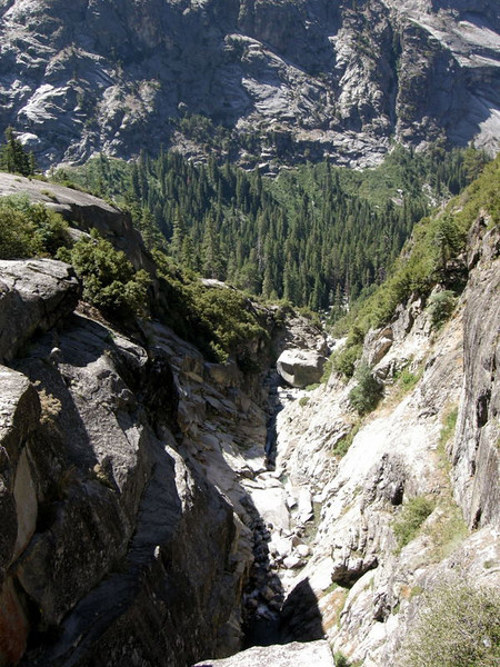 Lone Pine Creek Canyon