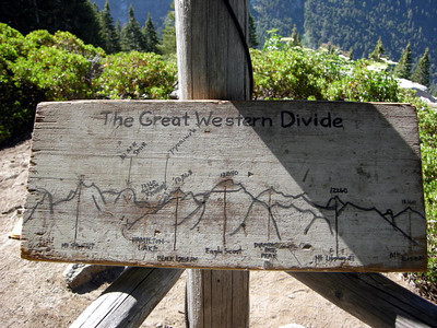 A rough guide to the Great Western Divide
