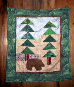 Quilt Panel at Bearpaw Meadow