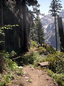 Continuing along the High Sierra Trail