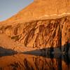 Alpenglow at Precipice Lake