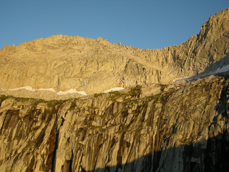 Eagle Scout Peak ridgeline