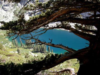 Turquoise Hamilton lake