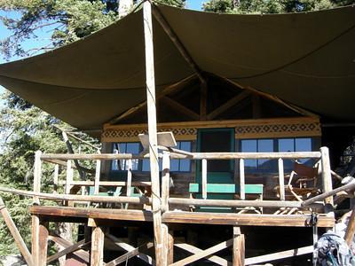 Our first break is at Bearpaw Meadow High Sierra Camp