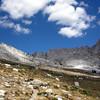 Looking back towards Burro Pass
