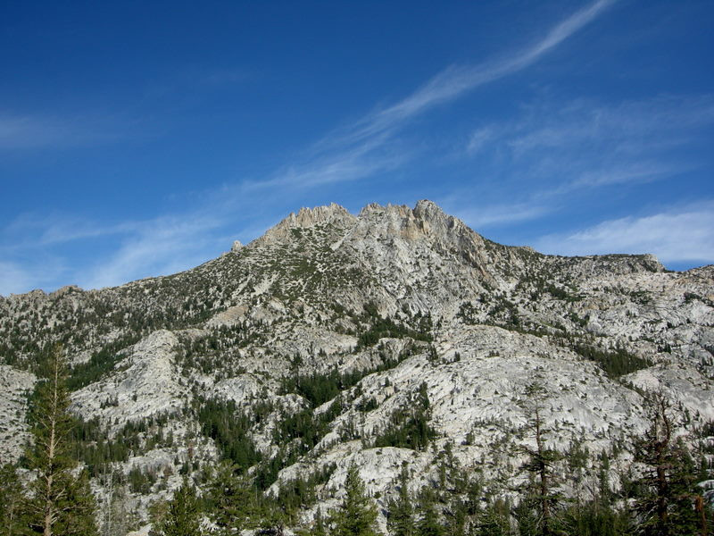 Kettle Peak viewed from the other side