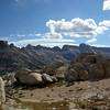 Sawtooths (with matterhorn peak)