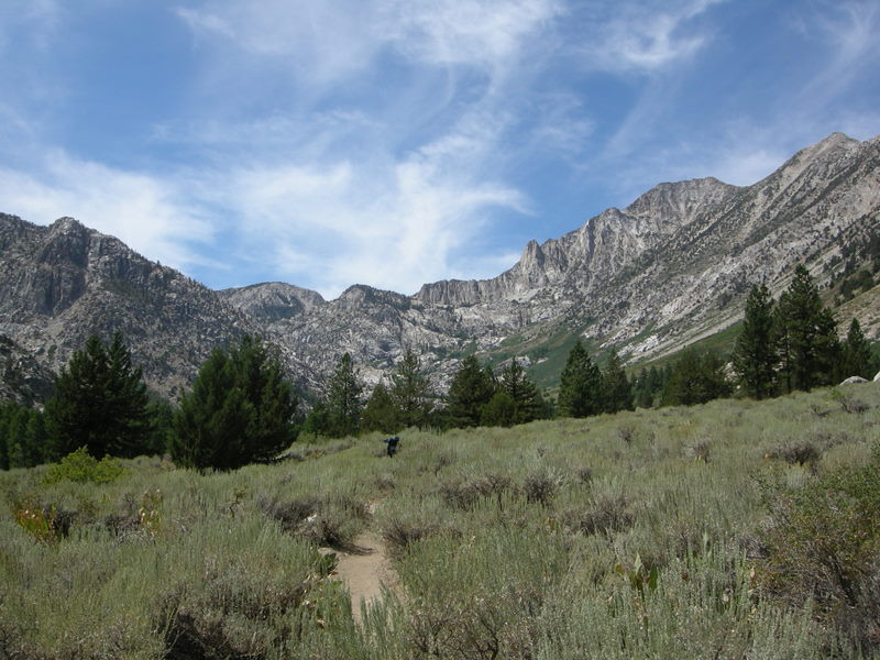 Our trip started off on Robinson Creek out of Twin Lakes