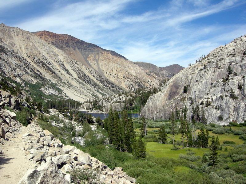 Barney Lake and meadow