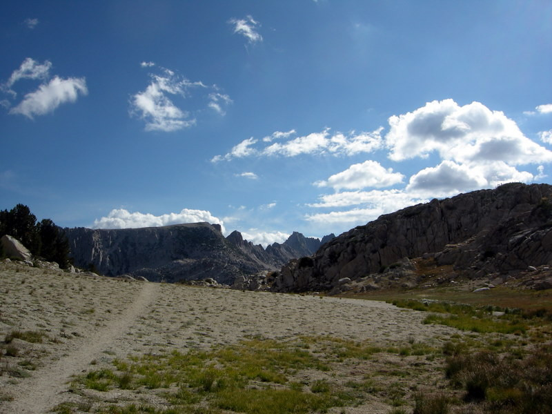 First Peek at the Sawtooth ridge
