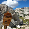 At Mule Pass we exit Hoover Wilderness and cross into Yosemite