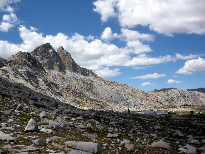 Finger Peaks from the pass