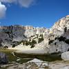 Trail through Piute Creek Canyon