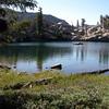 Unnamed lake below seavey pass