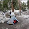 Camp by Crown Lake