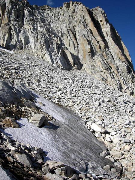 Glacier on Slide Mountain