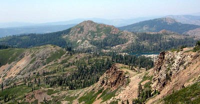 Island Lake from the Grouse Ridge Lookout