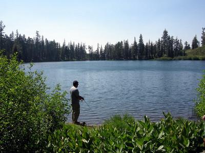 Laurent at Milk Lake