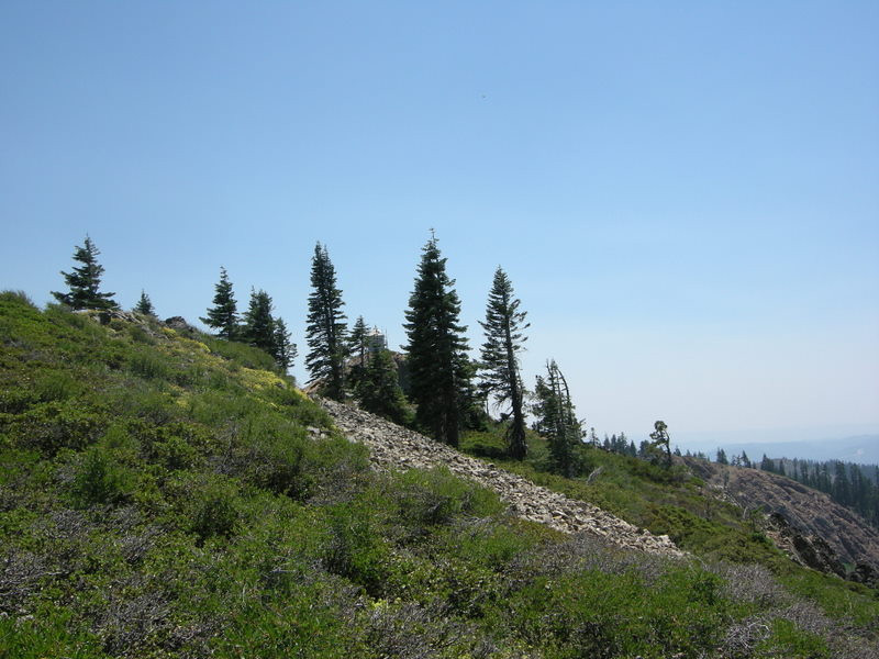 Grouse Ridge Lookout (the 'Sun')