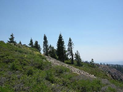 Grouse Ridge Lookout (the 'Sun')