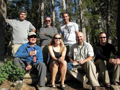 Back Row: Laurent (Vaudesir), Bud (50sumtin), Jeff (triplep220). Bottom row: Ben (bthomas), Me, Steve (Workerofwood), Dave  MISS YOU BUD!